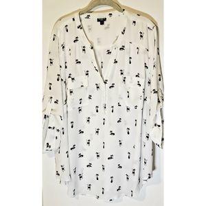 Torrid  button down blouse sz. 3